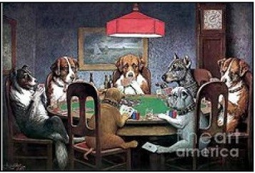 Dogs-Playing-Poker
