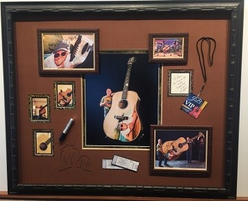 Jimmy Buffett, 10-Foot Guitar, Custom, Framing