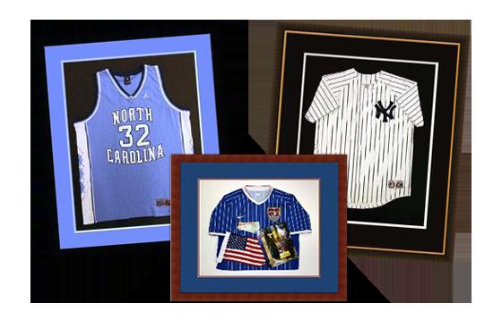 Shadowbox, Sports, Jerseys, Custom, Framing, Basketball, Baseball, Football, Soccer