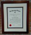 Custom, Framing, Diploma