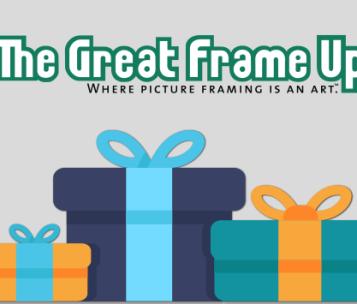Art, Decor, Framing, The Great Frame Up