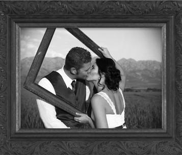 Art, Decor, Framing, Framed Memories, Wedding, Engagement