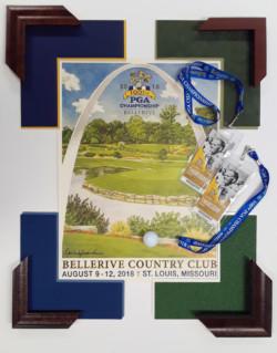 100 PGA Poster