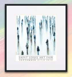 2019 Saint Louis Art Fair Commemorative Print framed