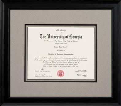 Graduation Framing - Creve Coeur & Chesterfield