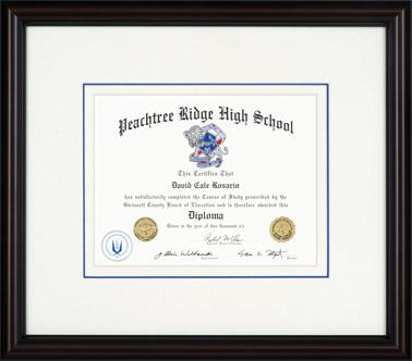 Diploma Framing - Deck the Walls :: Dayton