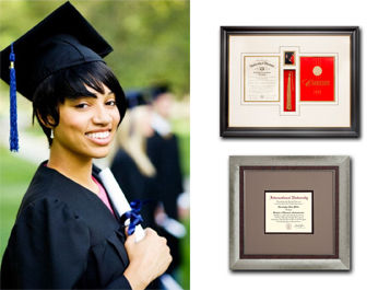 Graduation, Custom, Framing