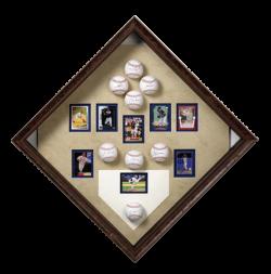 Framed Baseball Collection