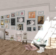 gallery wall, layout
