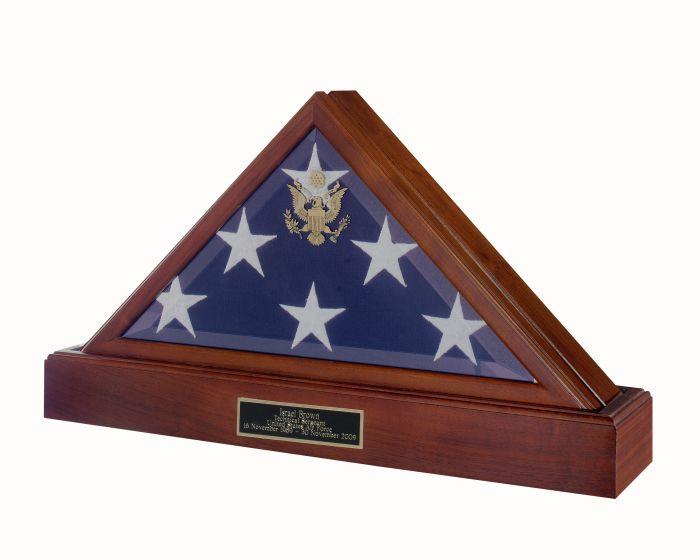 Flag Case Urn Combo 414W