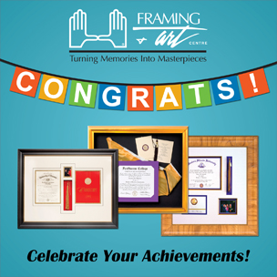 Diploma, Graduation, Custom, Framing