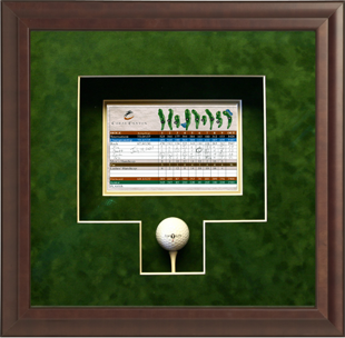 Framed golf