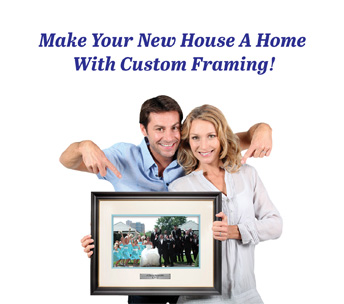 new homeowner, custom framing, wall decor