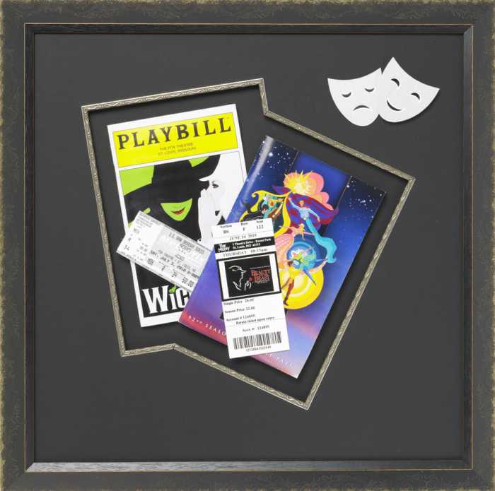 Framed Theater Playbill