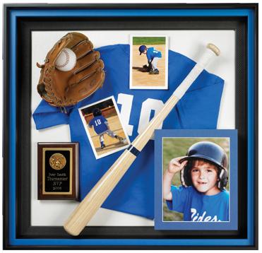 Custom, Framing, Sports, Baseball, Shadowbox