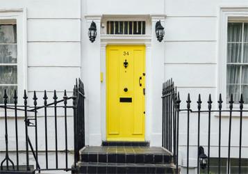 Yellow-Front-Door