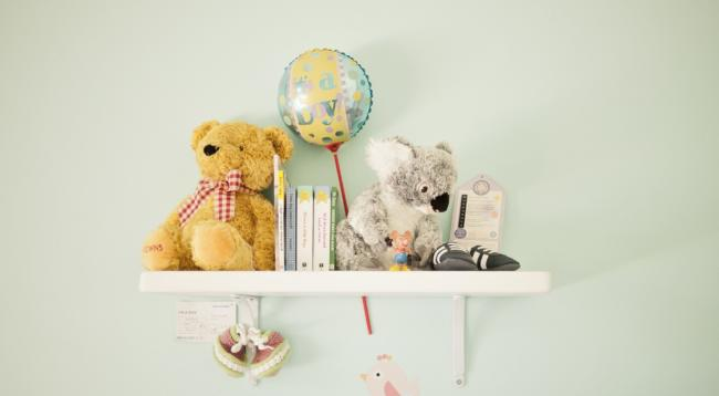Nursery Decorating Ideas - The Great Frame Up :: Overland Park