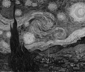 Starry Night, Van Gogh