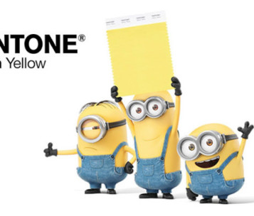 Pantone Minion Yellow