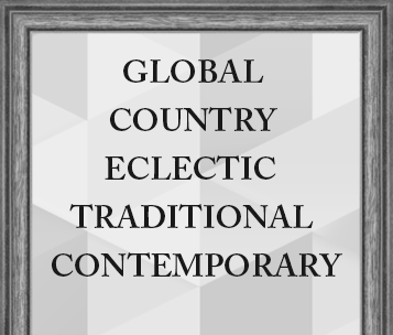 Global Country Eclectic Traditional Contemporary