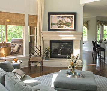 Art, Decor, Framing, Fireplace