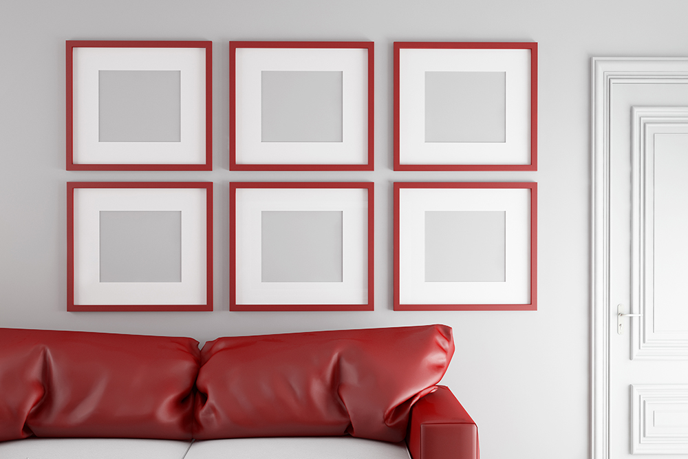 Picture Frames Red Ottawa