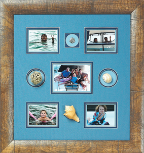 Framed Memories, Art, Decor, Framing