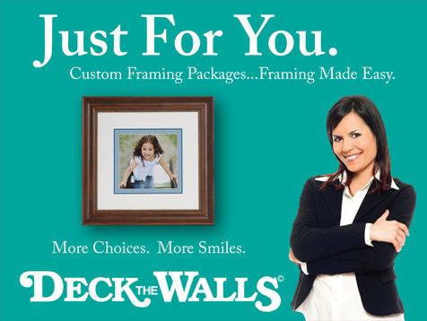 Art, Decor, Framing, Deck The Walls