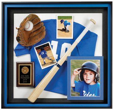 Custom, Framing, Sports, Baseball, Shadowbox