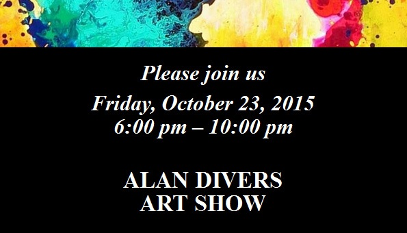 Alan Divers Art Show - October 23, 2015 - The Great Frame Up :: Tampa