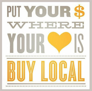 Buy local graphic
