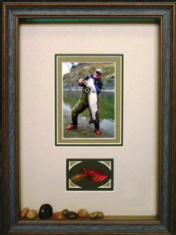 Framed Fish Image