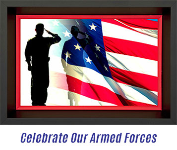 Armed Forces, Flag, Custom, Framing, Memorial Day, The Great Frame Up