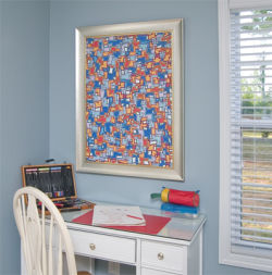 Custom Framed Workspace Art