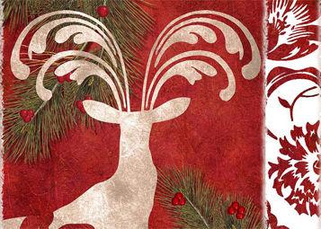Christmas, deer