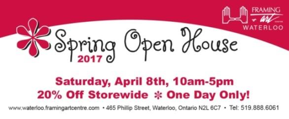 Spring Open House invite
