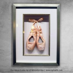 Ballet Shoes Shadowbox Frame