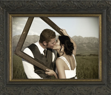 Art, Decor, Framing, Wedding, Engagement, Framed Memories